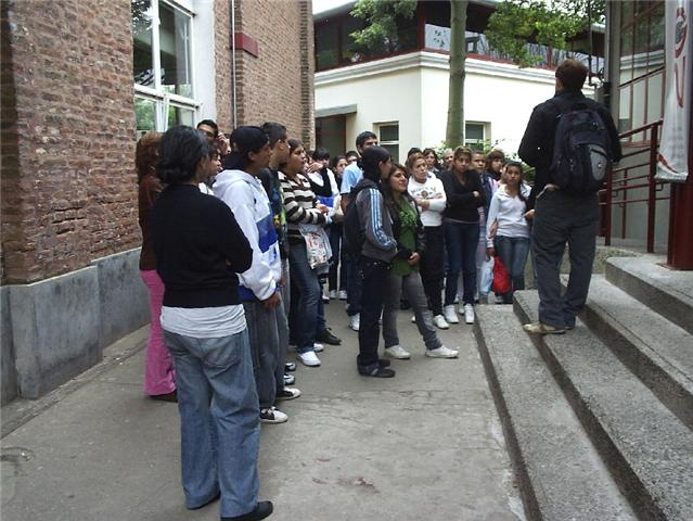 Visita escuela a UNQ 2