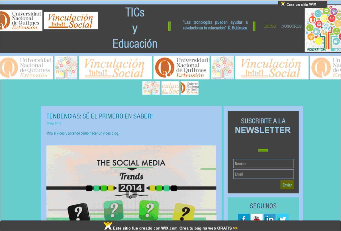 Universidad y Escuela: las TICs en los procesos de enseñanza y de aprendizaje